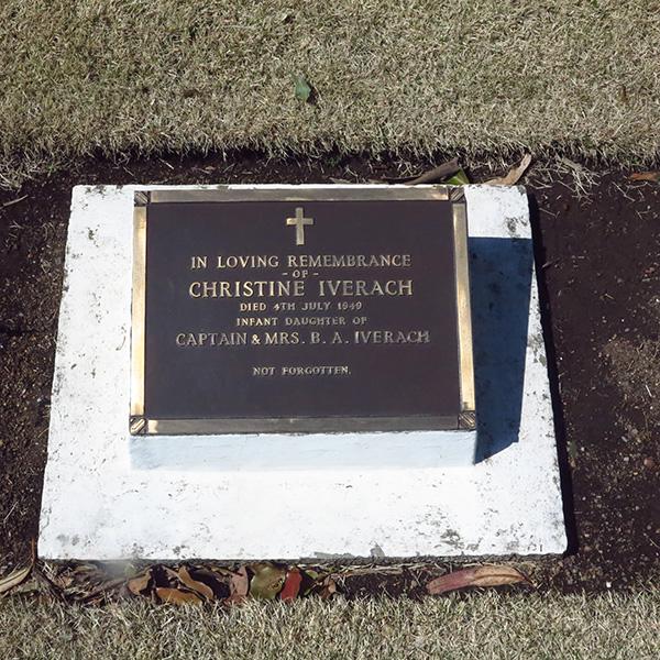 CHRISTINE IVERACH